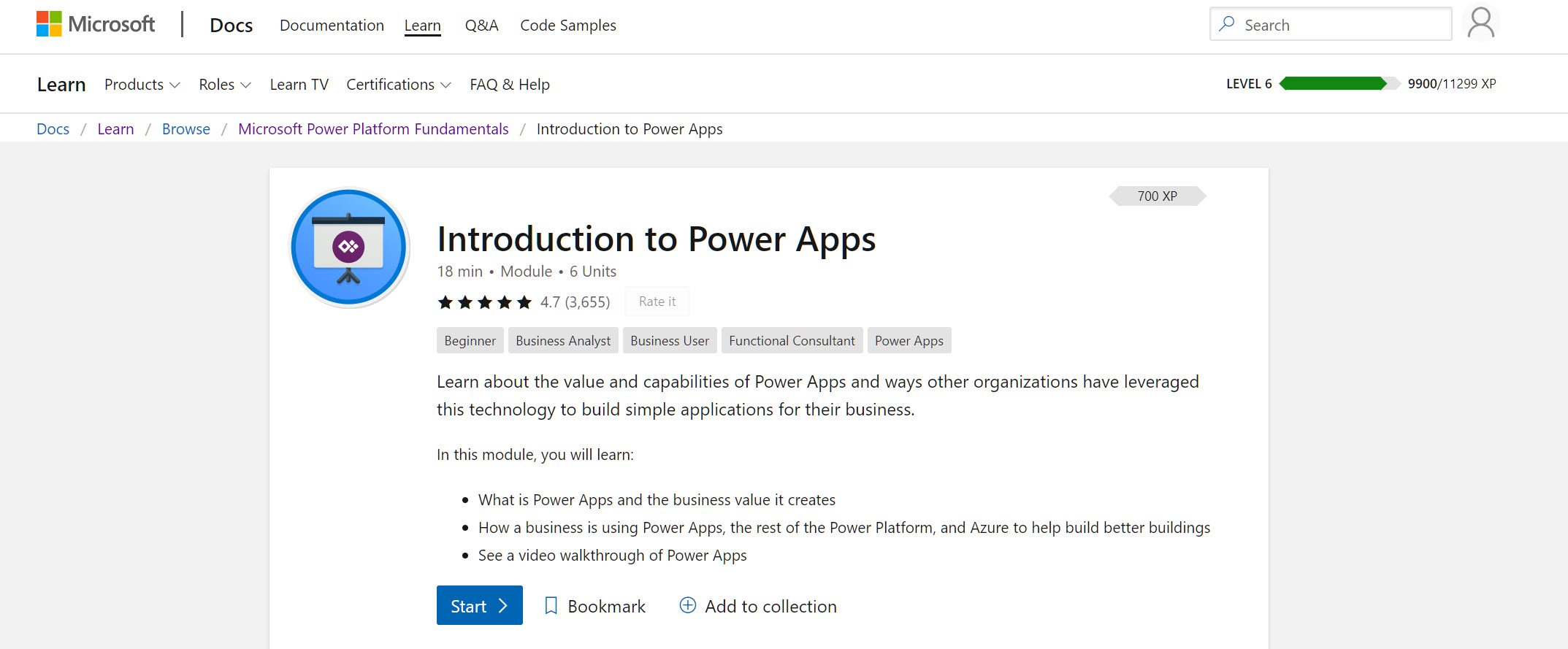 How do I get certified in Power Apps